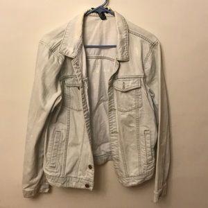 Light Washed Blue Jean Jacket